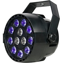 Open Box Eliminator Lighting Mini Par UVW LED Black Light with Strobe