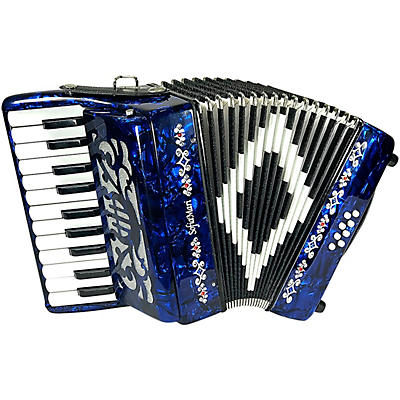 Sofiamari Mini Traveler Accordion - Dark Blue Pearl