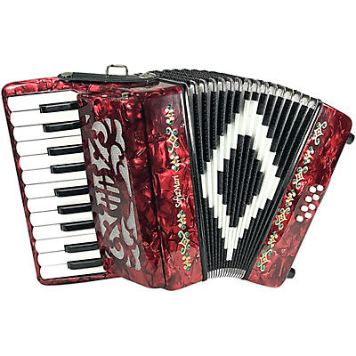 Sofiamari Mini Traveler Accordion - Red Pearl
