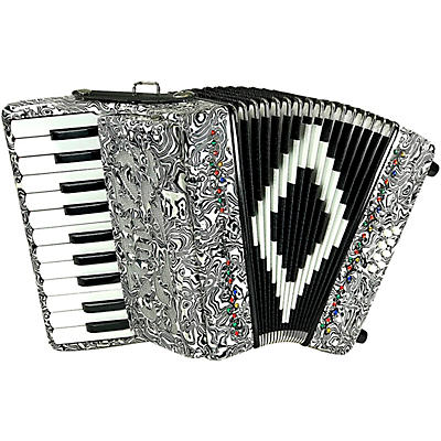 Sofiamari Mini Traveler Accordion - Zebra Pearl