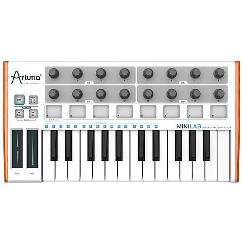 Arturia MiniLab Mini Hybrid Keyboard Controller