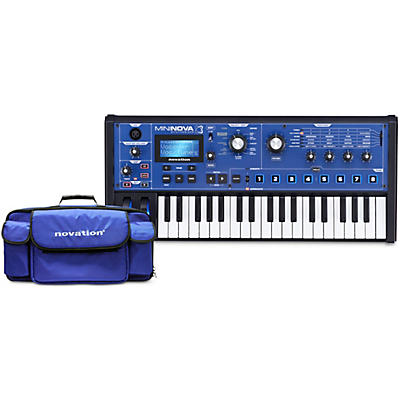 Novation MiniNova Synthesizer with Gig Bag