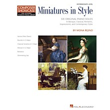 Hal Leonard Miniatures in Style Piano Library Series Book by Mona Rejino (Level Inter)