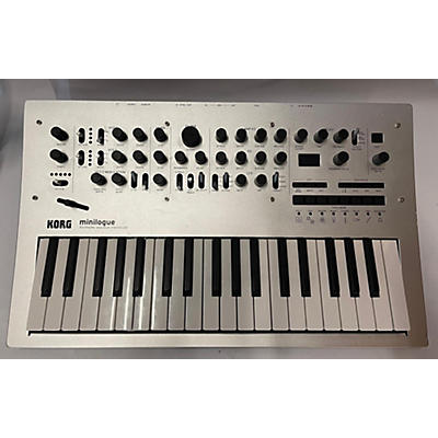 Korg Minilogue 4 Voice Polyphonic Analog Synthesizer