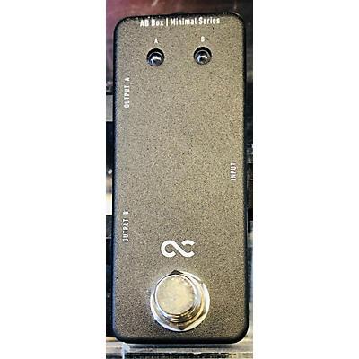 One Control Minimal Ab Box Pedal