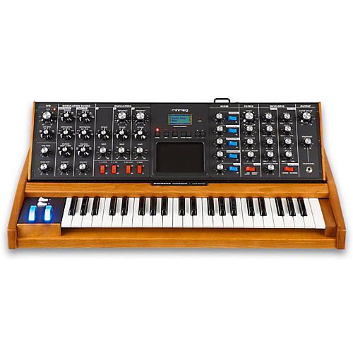 Minimoog Voyager Performer Edition with Blue Wheel
