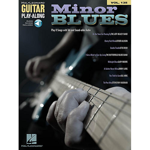 Hal Leonard Minor Blues (Guitar Play-Along Volume 135) Guitar Play-Along Series Softcover Audio Online by Various