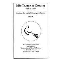 Transcontinental Music Mir Trogen A Gezang SATB composed by Leo Low