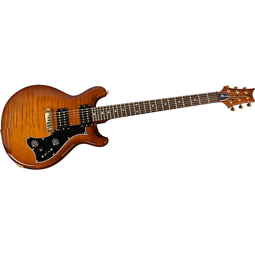 PRS Mira Flame Maple Top, Standard Neck with Moon Inlays and Gold Hardware Electric Guitar