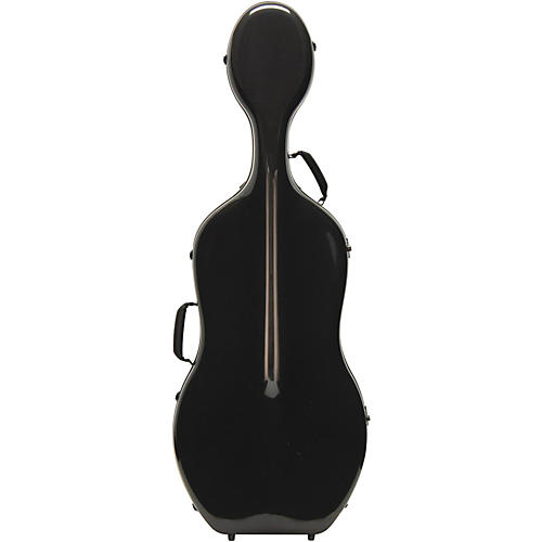 Otto Musica Mirage Series Carbon Hybrid Cello Case 4/4 Black