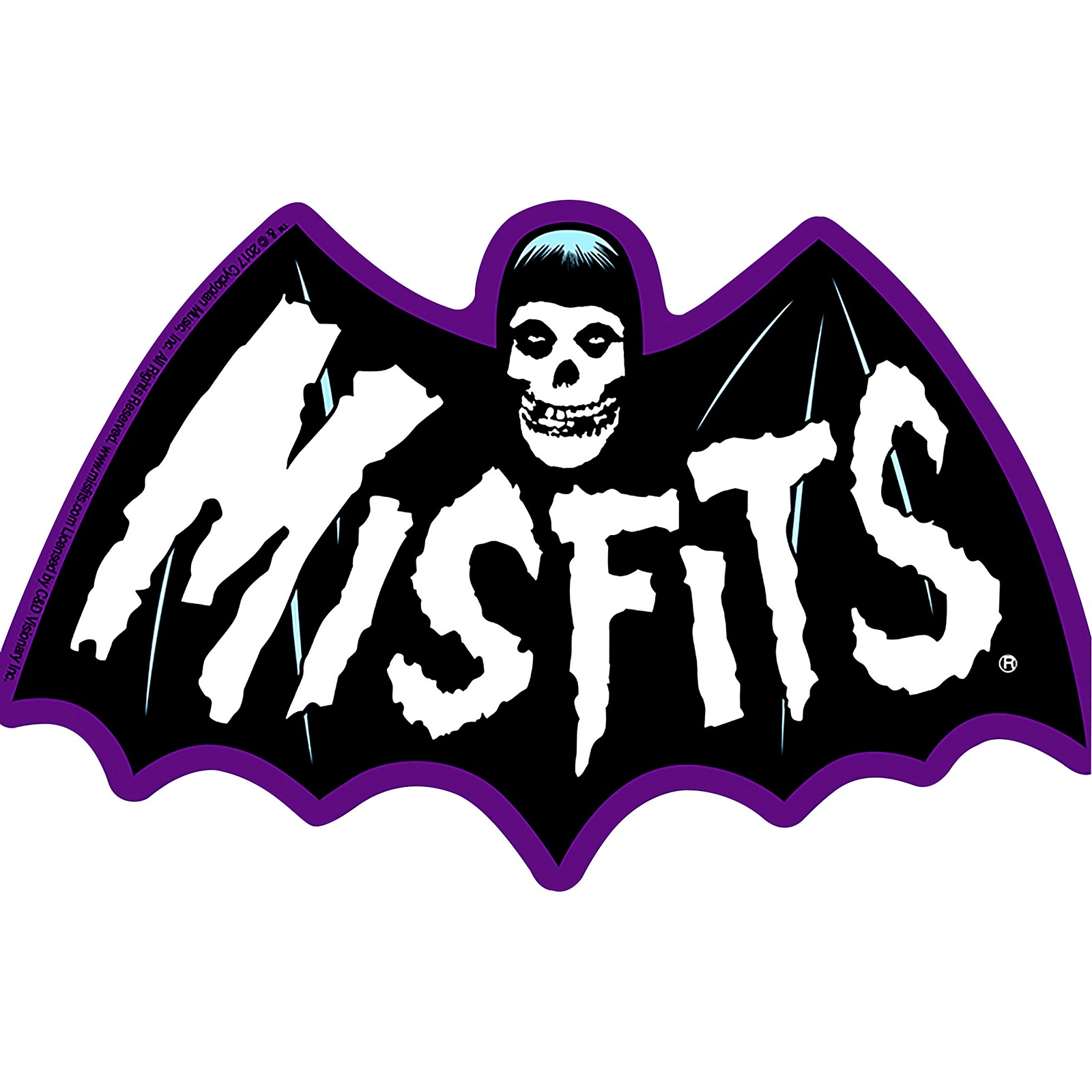 C&D Visionary Misfits Bat Fiend Sticker