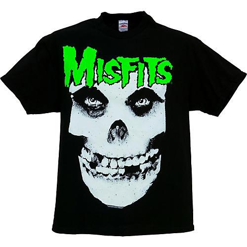 Gear One Misfits Glow-in-the-Dark Jurek Skull T-Shirt