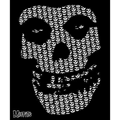 C&D Visionary Misfits Skull Blanket- Fleece