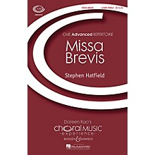 Boosey and Hawkes Missa Brevis (CME Advanced) 3 Part Treble A Cappella composed by Stephen Hatfield