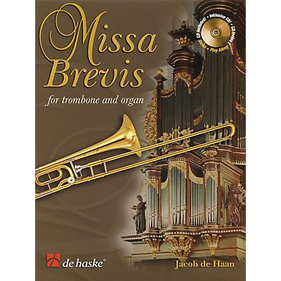 De Haske Music Missa Brevis (for Trombone and Organ) De Haske Play-Along Book Series