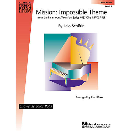 Hal Leonard Mission: Imposssible Educational Piano Solo Series (Level Inter)