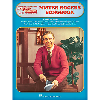 Hal Leonard Mister Rogers' Songbook E-Z Play Today Volume 260