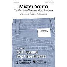 Hal Leonard Mister Santa SSAA arranged by Ed Lojeski