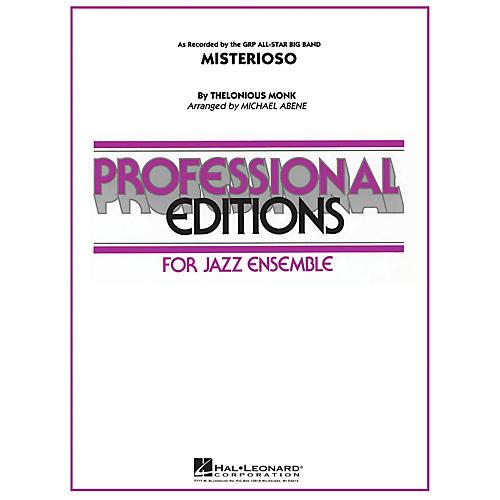 Hal Leonard Misterioso Jazz Band Level 5 Arranged by Michael Abene