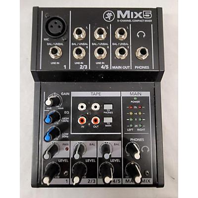 Mackie Mix 5 Line Mixer