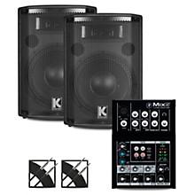 Mix5 Mixer and Kustom HiPAC Speakers 10