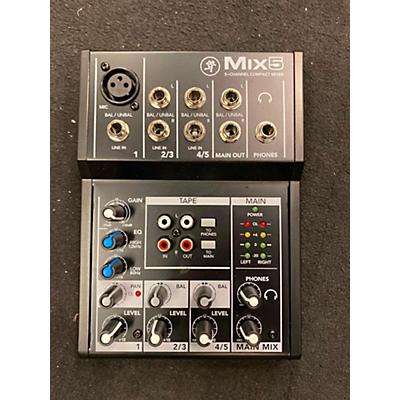 Mackie Mix5 Powered Mixer