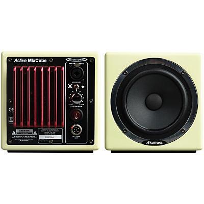 "Avantone MixCube 5.25"" Powered Studio Monitors (Pair), Buttercream"