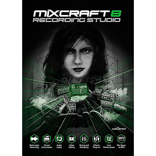 Acoustica Mixcraft 8 Recording Studio Academic Edition - Download