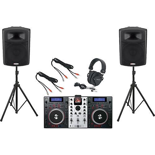 Numark Mixdeck / Harbinger APS15 DJ Package