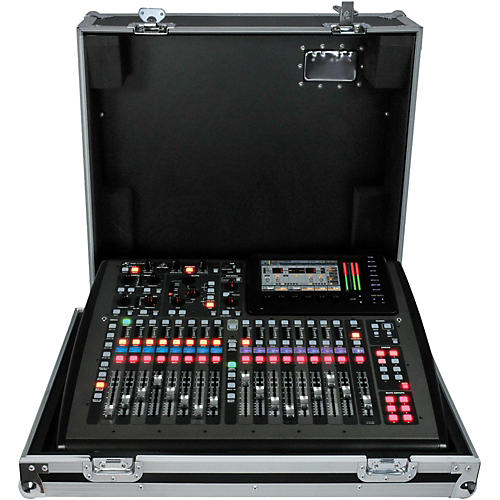 Behringer Mixer With ATA Case Touring Package