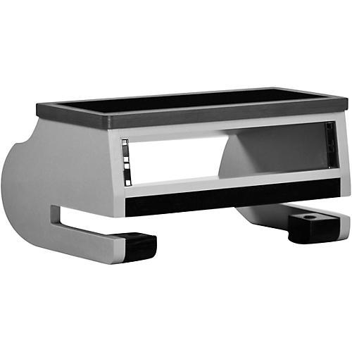 Zaor Miza Griprack 2-Space Desktop Rack Titanium/Wenge