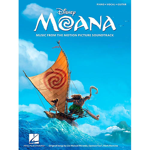 Hal Leonard Moana - Music from The Motion Picture Soundtrack Piano/Vocal/Guitar