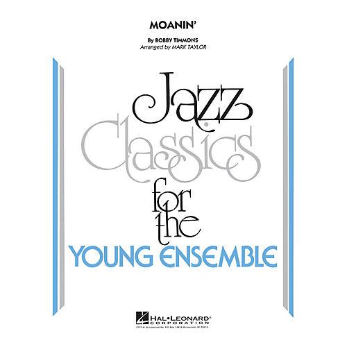 Hal Leonard Moanin' Jazz Band Level 3 Arranged by Mark Taylor