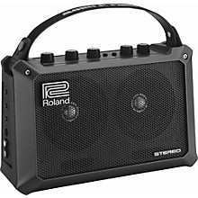 Open Box Roland Mobile Cube Battery-Powered Stereo Guitar Combo Amp