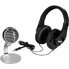 Open BoxShure Mobile Recording Kit