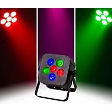 ColorKey MobilePar Hex 6 RGBAW+UV LED Wireless PAR Light, Black