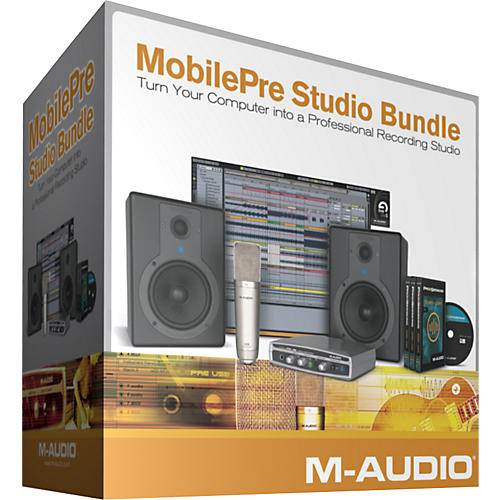 M-Audio MobilePre Studio Bundle