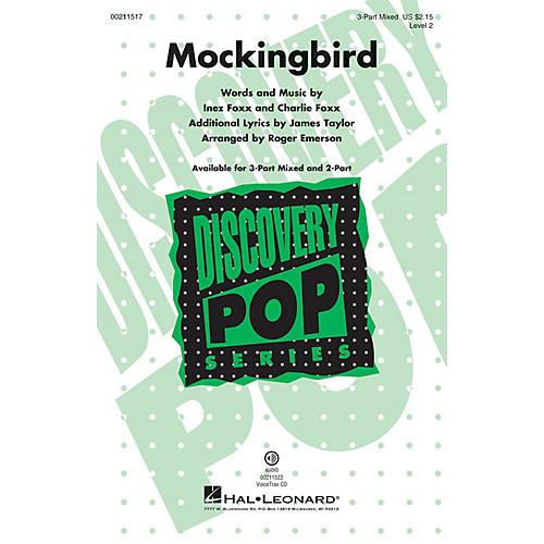 Hal Leonard Mockingbird (Discovery Level 2) VoiceTrax CD Arranged by Roger Emerson