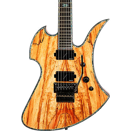 B.C. Rich Mockingbird Extreme Exotic with Floyd Rose Electric Guitar Spalted Maple