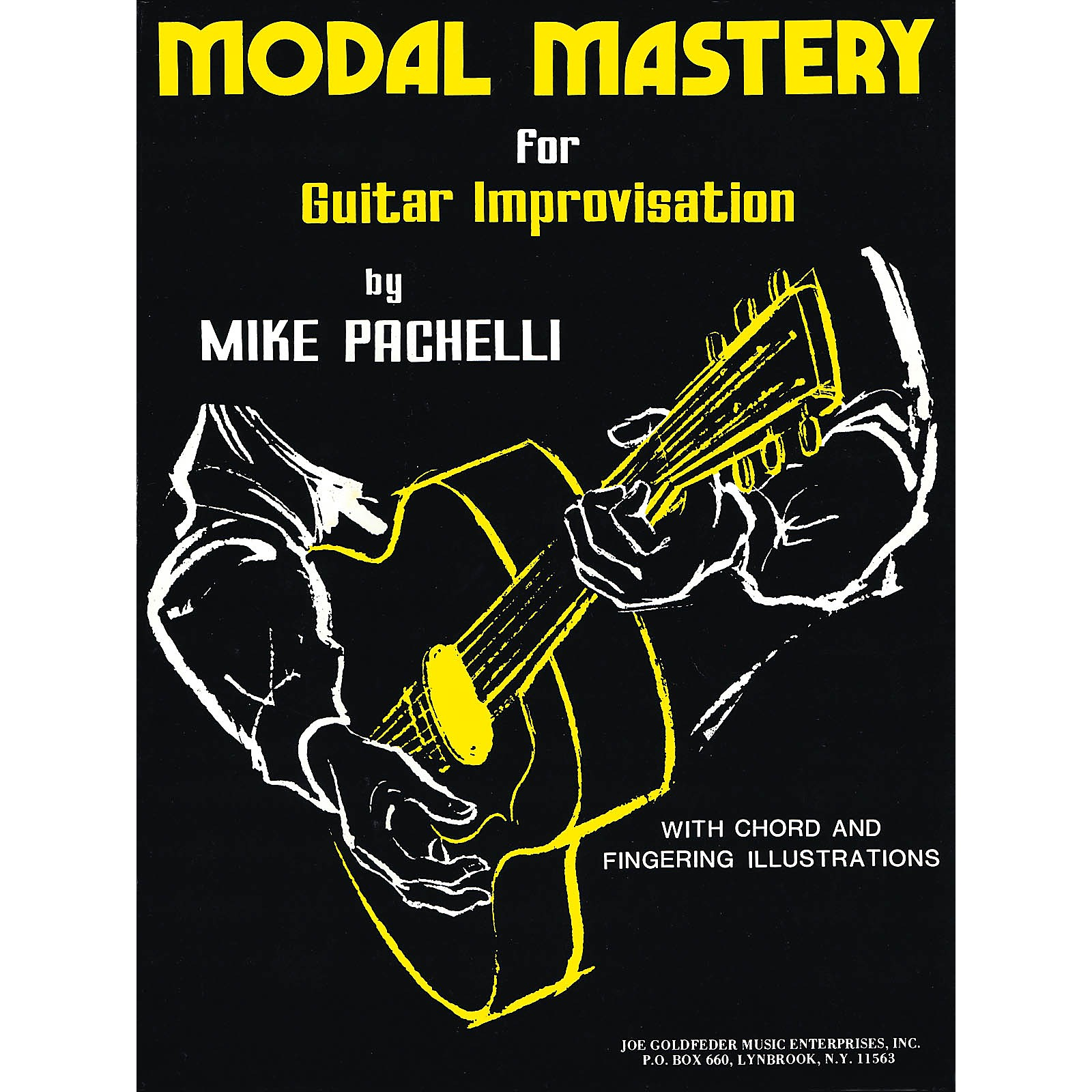 Criterion Modal Mastery for Jazz Guitar Improvisation Criterion Series Softcover Written by Mike Pachelli