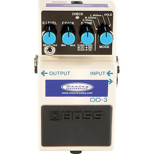 Keeley Modded Boss DD-3 Digital Delay Guitar Effects Pedal