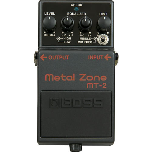 Keeley Modded Boss MT-2 Twilight Zone 3-Way Switch Guitar Effects Pedal