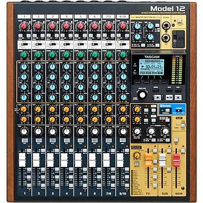 Tascam Model 12 All-in-One Production Mixer