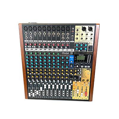 TASCAM Model 16 Unpowered Mixer