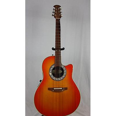 Ovation Model 1860 Custom Belladeer Acoustic Electric Guitar