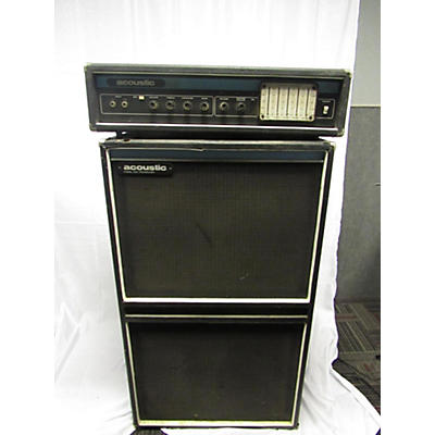 Acoustic Model 230 Head And Cab Bass Stack