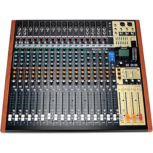 TASCAM Model 24 24-Channel Multitrack Recorder With Analog Mixer and USB Interface