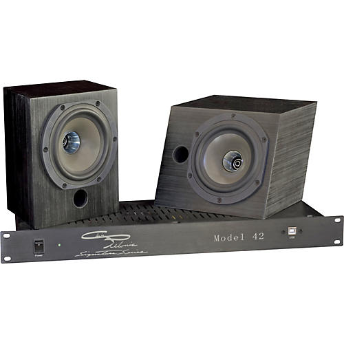 Pelonis Sound and Acoustics Model 42 Two-Way Compact Active Studio Monitoring System
