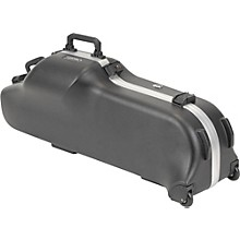 Open Box SKB Model 455W Universal Baritone Sax Case with Wheels