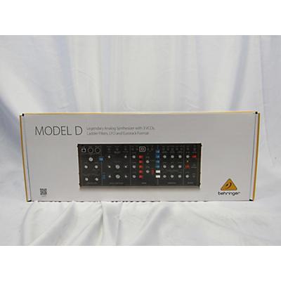 Behringer Model D Synthesizer